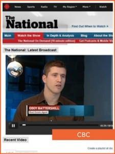 Remax Calgary Cody Battershill on CBC