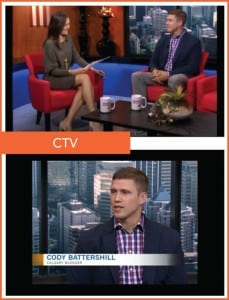 Remax Calgary Realtor Cody Battershill on CTV