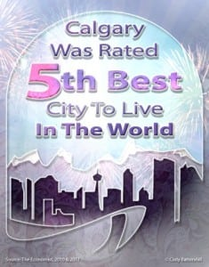 Calgary – 5th Best City to Live in the World