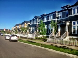 Evanston Townhomes in Calgary Northwest