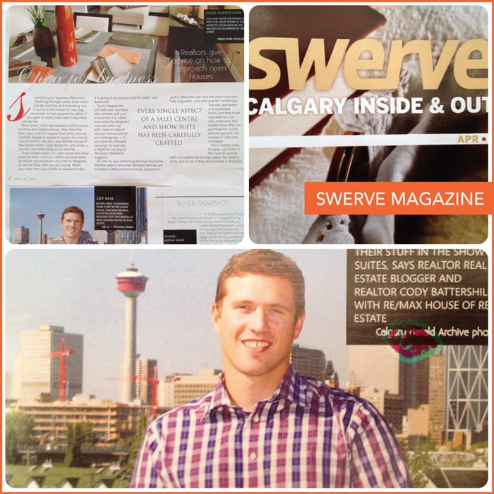 Remax Calgary Realtor Cody Battershill in Swerve
