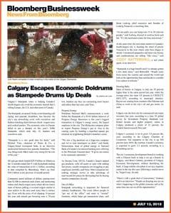 Remax Calgary Realtor Cody Battershill in Bloomberg