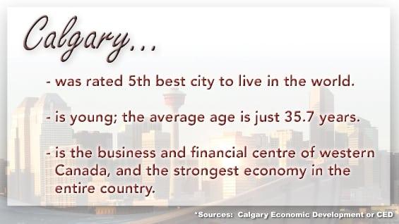 Calgary statistics