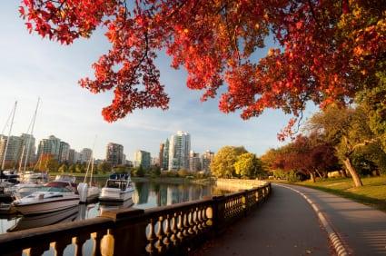 Stanley Park in Vancouver Canada