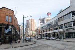 1 Street Downtown Calgary