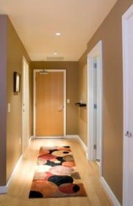 Calgary Condo Hallway