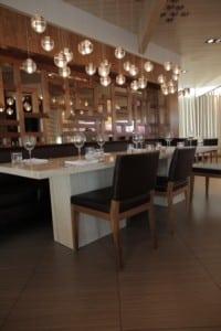 Inside Alloy Restaurant
