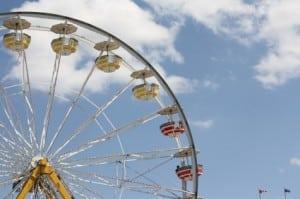 Calgary Stampede Midway Rides