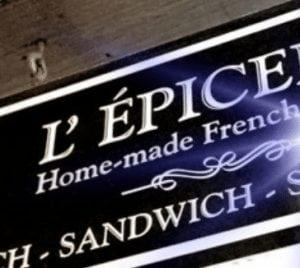L' Epicerie Calgary french restaurant