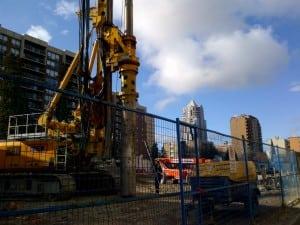 Calla Living Condo Under Construction