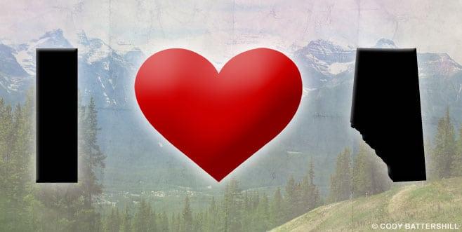 I Love Alberta Canada