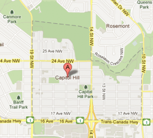 Capitol Hill Calgary Infills