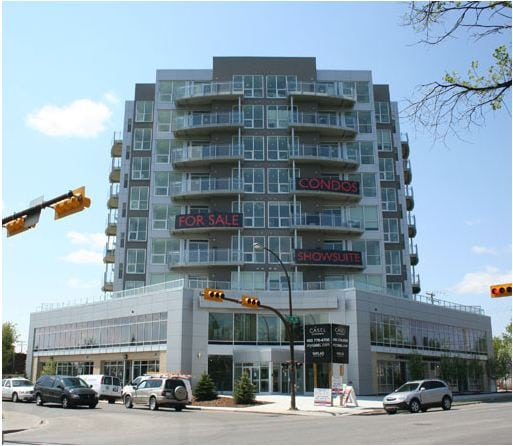 Casel condos on 17th Avenue SW in Calgary