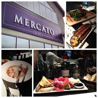 Mercato Calgary Restaurant Collage