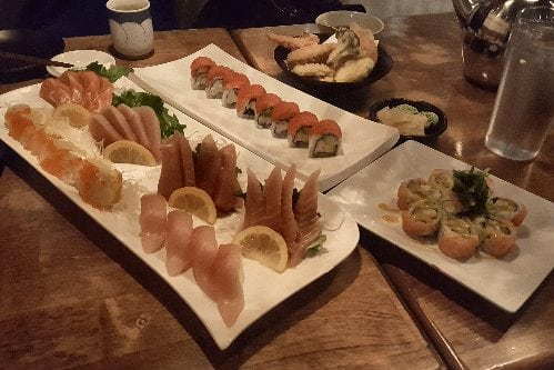 hana sushi mission sashimi restaurant beltline calgary alberta