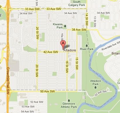 Altadore Calgary Community and Home Search