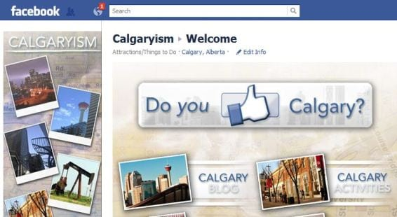 Calgary photos on Facebook