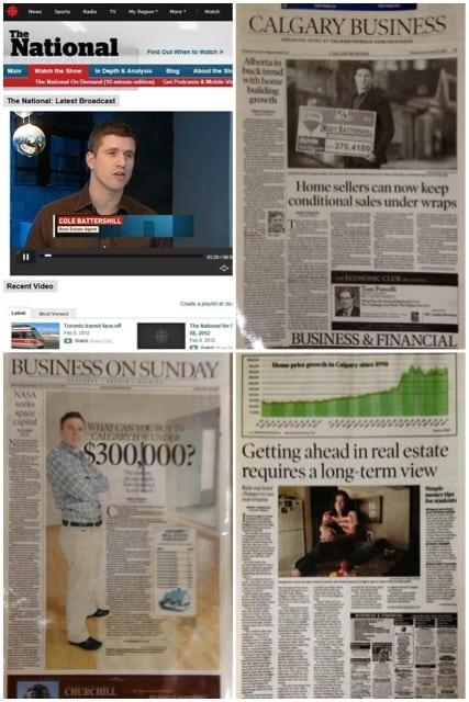 Cody Battershill Calgary REALTOR in the news