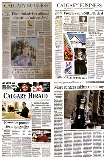 Calgary Realtor Cody Battershill featured in the news