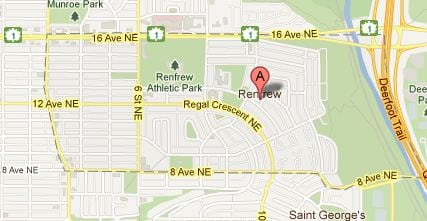 Calgary inner city community of Renfrew listings and MLS