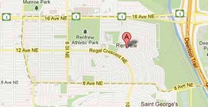 Calgary inner city community of Renfrew listings and MLS