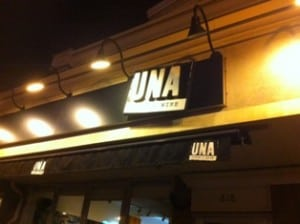 Una Italian Pizza and Wine Restaurant Calgary
