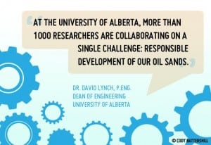 1000 Researchers to Improve Oil Sands Impact