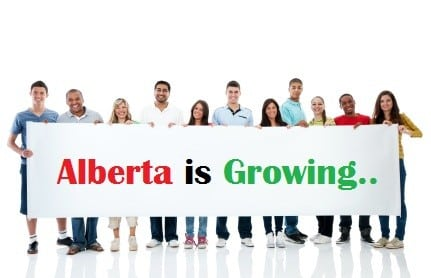 Alberta is Growing