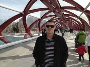 Calgary Landmark - Peace Bridge