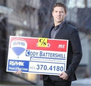 Cody Battershill in the Calgary Herald