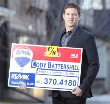 Cody Battershill in the Calgary Herald