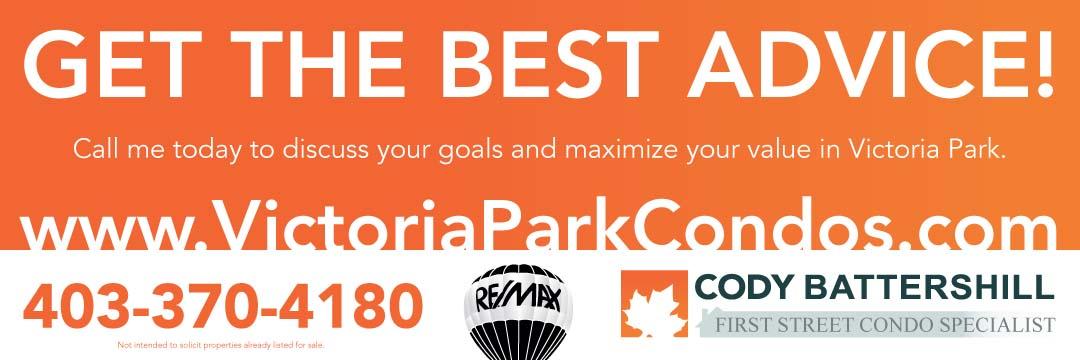 Victoria Park Condos - Cody Battershill Calgary Realtor