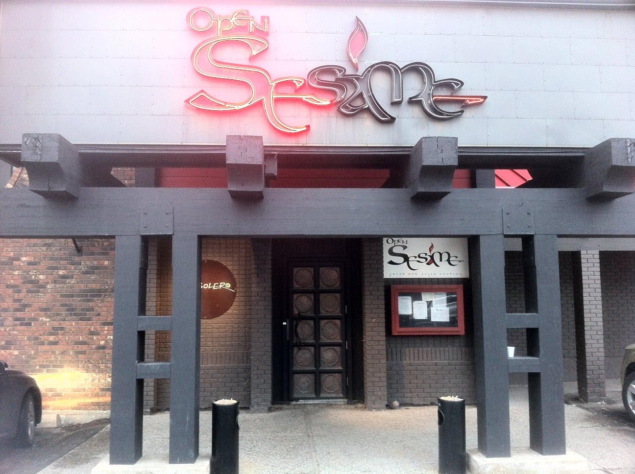 Open Sesame Calgary Restaurant