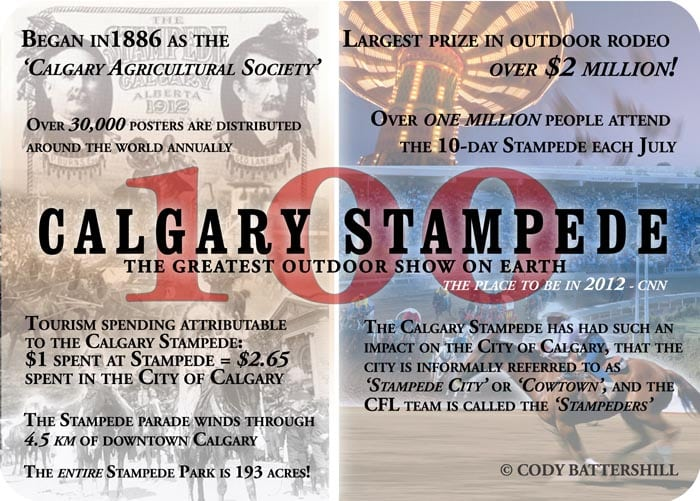 Calgary Activities Calgary Stampede 100th Centennial Year
