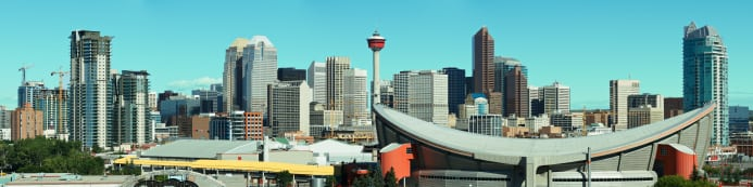 Calgary Skyline Saddledome