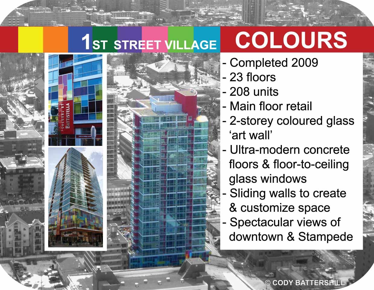 Colours Condos Calgary Infographic