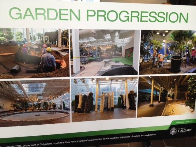 Devonian Gardens Renovations Calgary