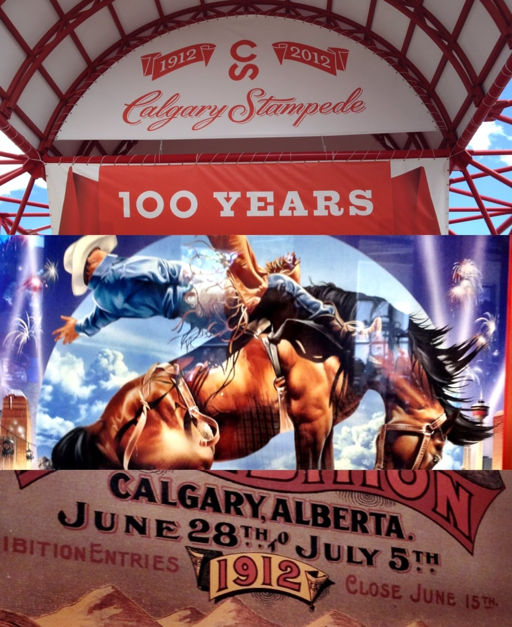 Calgary Stampede Collage