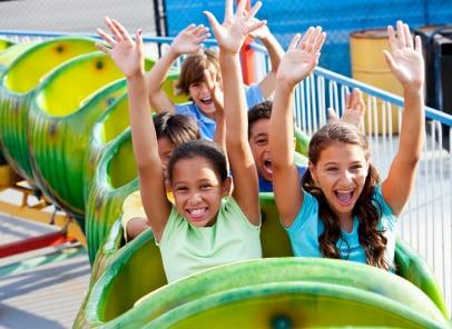 Carnival Ride Calaway Park Calgary