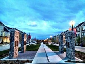 Currie Barracks Calgary community streetscape