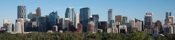 Calgary Skyline and Inner City North Area