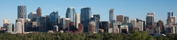 Calgary Inner City Skyline