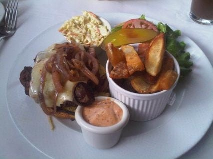 Best Burgers in Calgary Mushroom and Onion