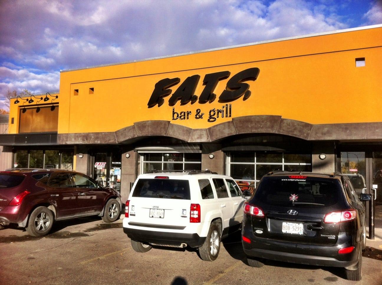 FATS Bar and Grill Kensington Calgary