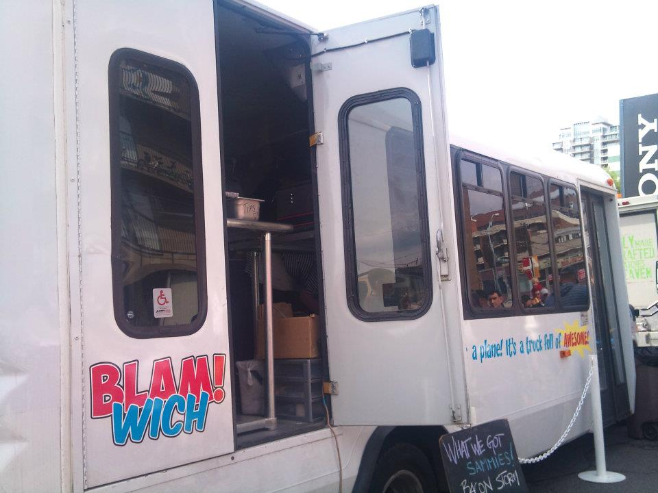 Food Truck in Calgary Blam Wich