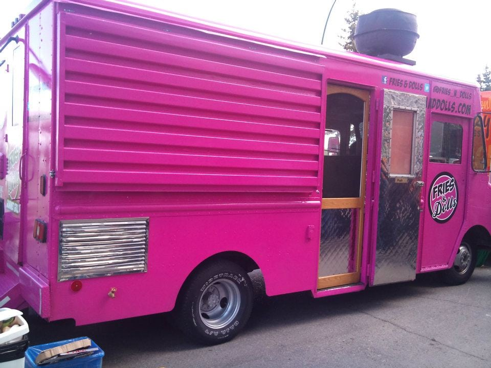 Food Truck in Calgary Fries and Dolls