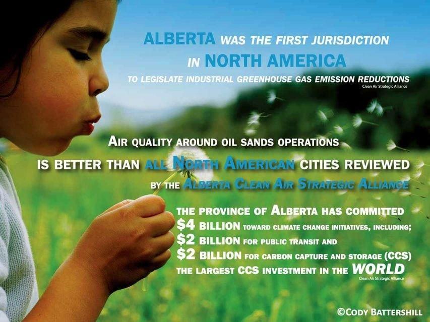 Alberta and GHG emissions