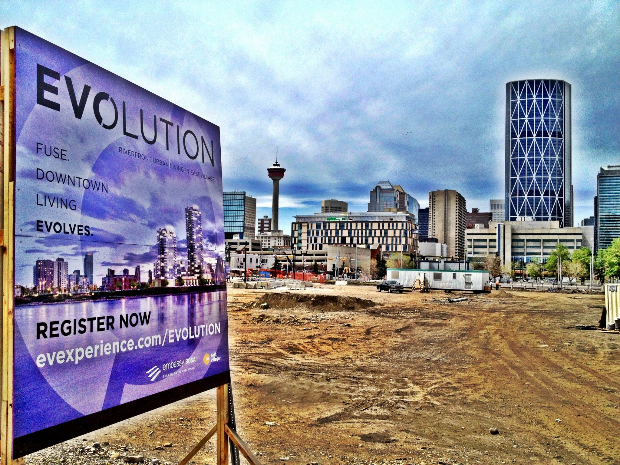 Evolution Condos Construction Begings in Calgary