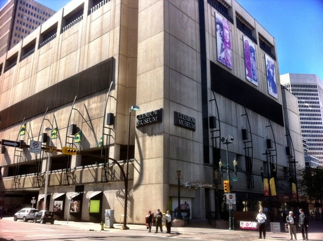 Glenbow Museum Downtown Calgary