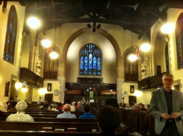 Knox United Church Interior Calgary